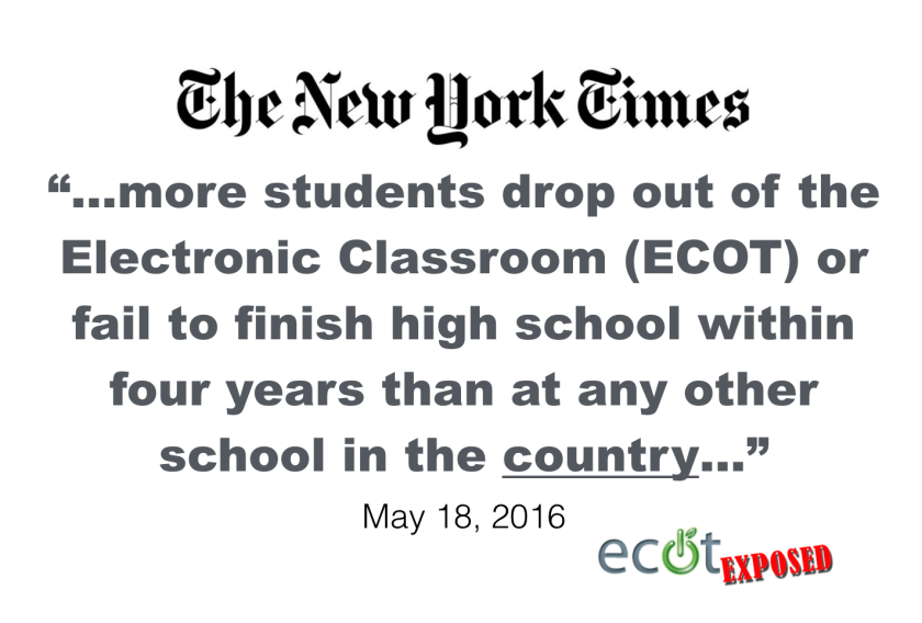 ECOT NYT quote
