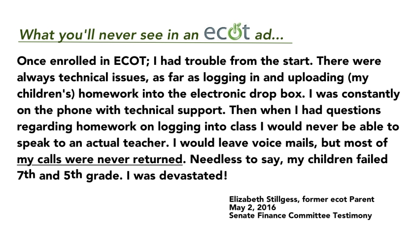ECOT parent quote
