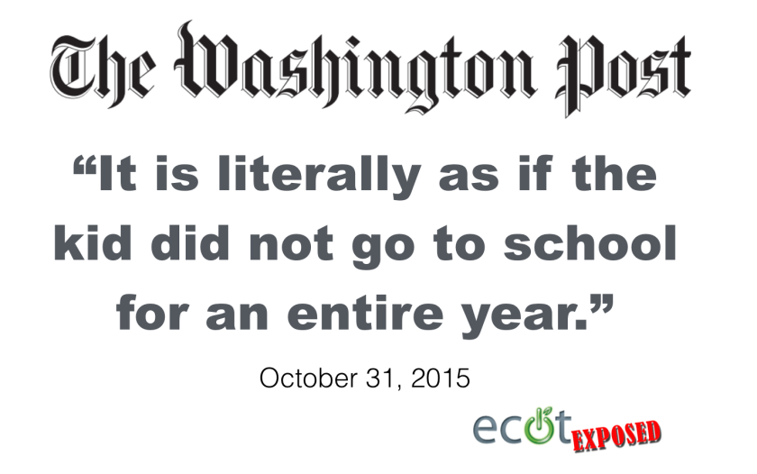 ECOT Washington Post Quote