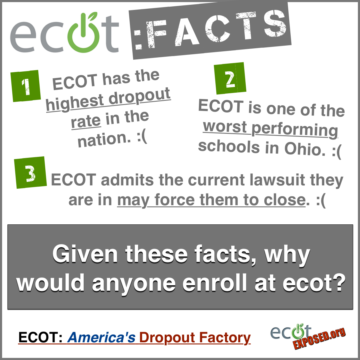 ecot closing